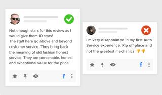 Embed facebook reviews widget