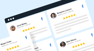 embed facebook reviews widget on website