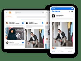 Facebook widget on blogger