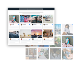 facebook widget on html