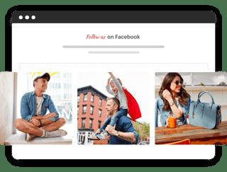 facebook widget on website