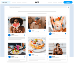 Embed Facebook Feed On Wix Website