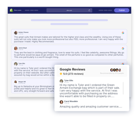 Taggbox google reviews widget on shopify