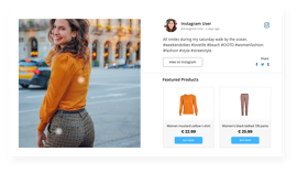 make ugc shoppable using UGC platform