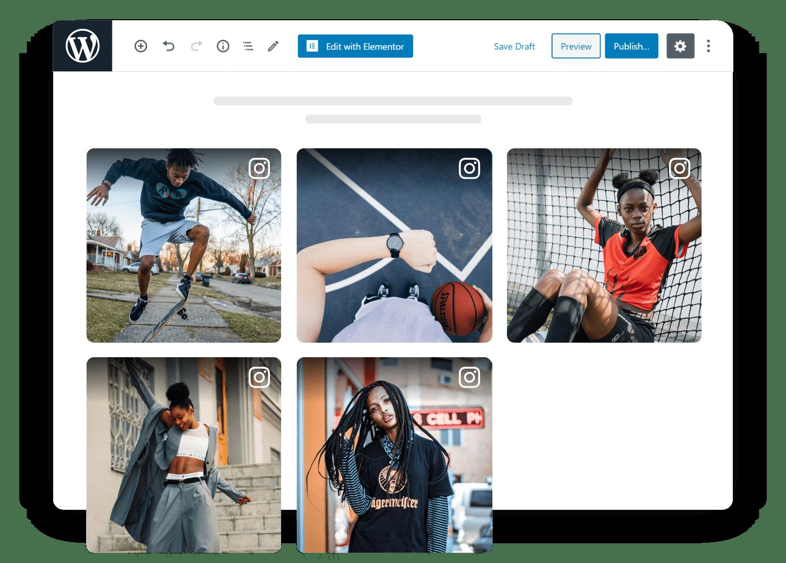 Instagram Widget For Wordpress Website