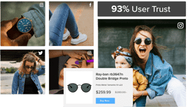 user-generated content platform for retail