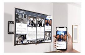 Display Social Wall On Any Screen