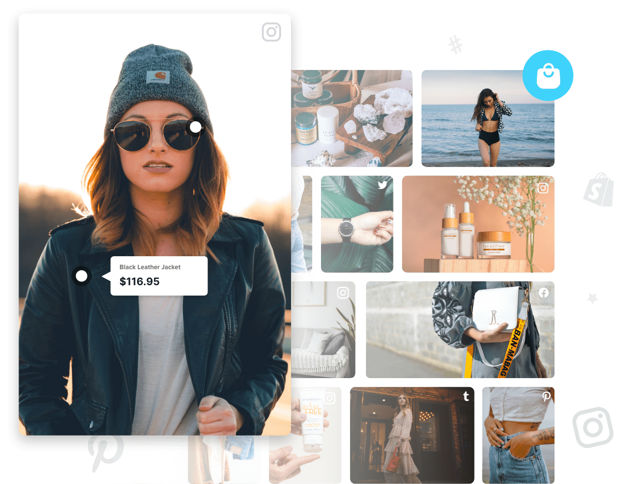 Shoppable Social Wall For Ecommerce