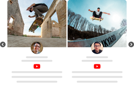 creative themes for youtube video widget
