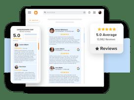 Taggbox google Reviews widget on blogger