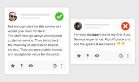 google reviews widget for website