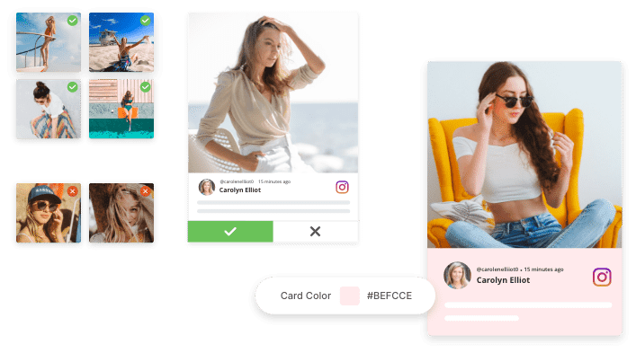 curate user-generated content