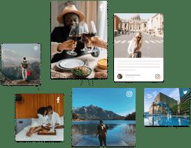 UGC platform for travel brands