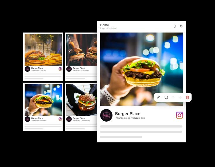 Taggbox instagram widget on sqaurespace
