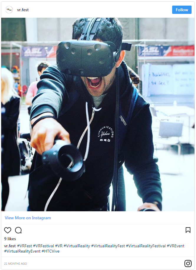 audiecne engagement with Virtual Reality (VR) Gamification
