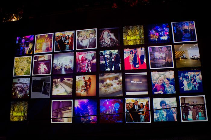 Instagram Wall at event