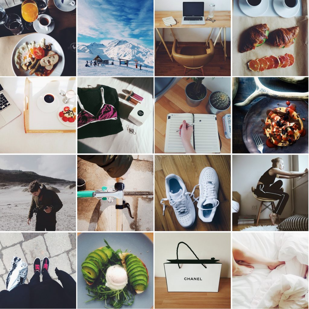 Instagram for photographer fashion