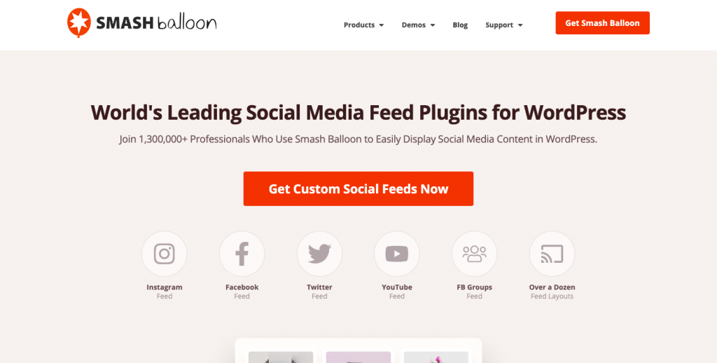 social widget for website