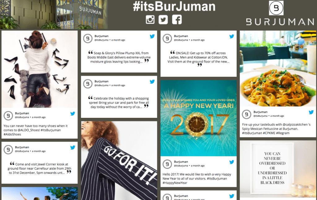 itsburjuman taggbox Twitter wall