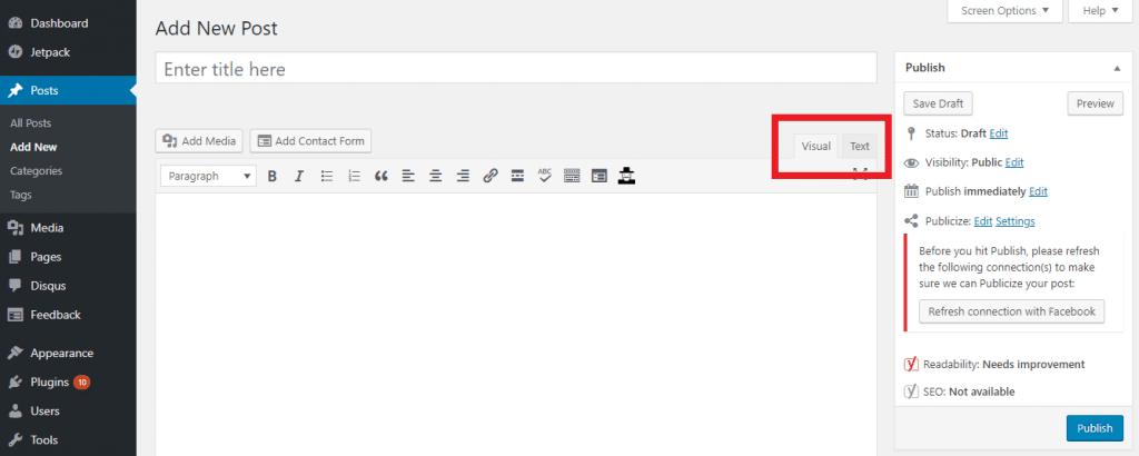 Embed linkedIn on WordPress
