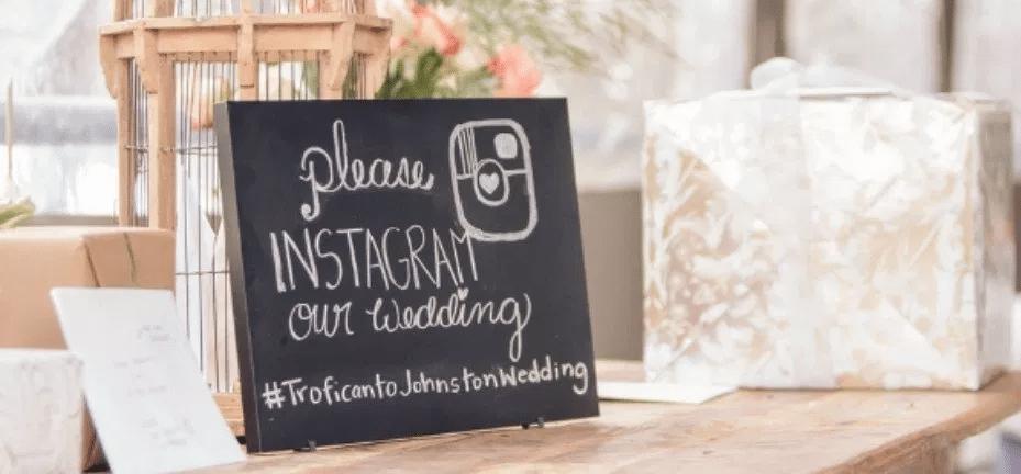 social media guide for wedding planner