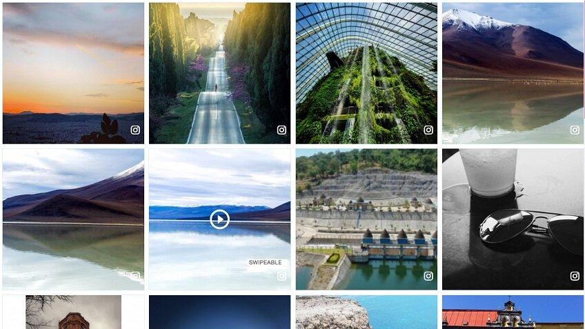 square photo - Instagram Template