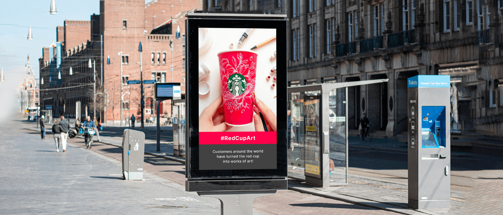 digital out of home advertisement