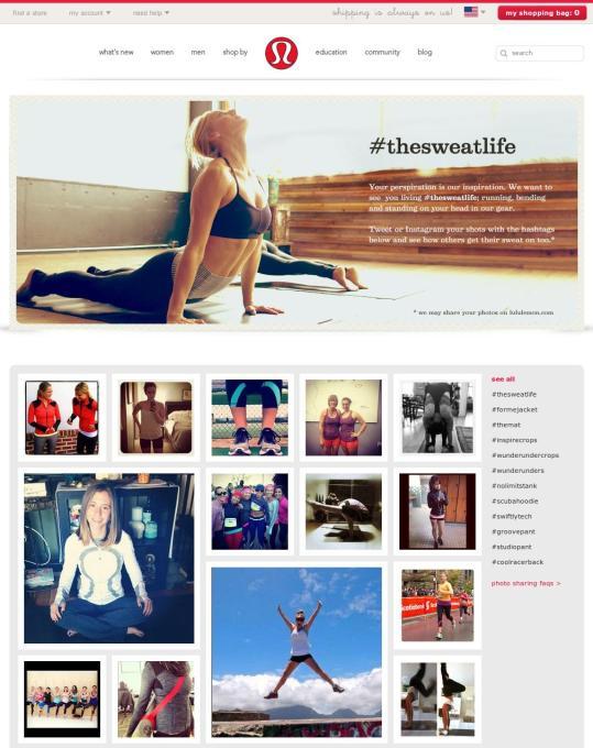 user generated content website