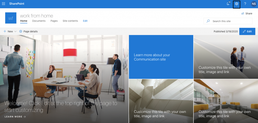 yammer feeds