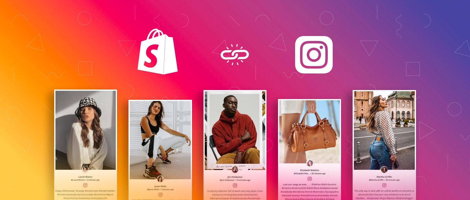 Shopify Instagram Shoppable feed