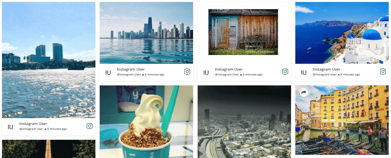 embed Instagram content on website