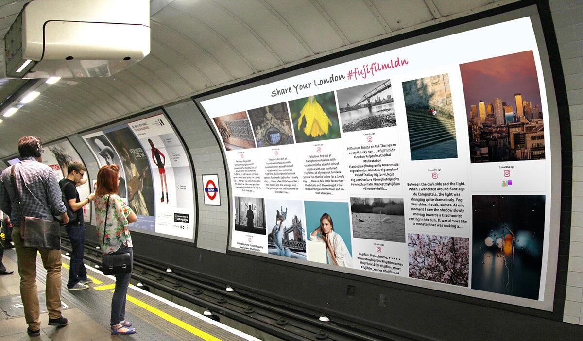 London Metro social board