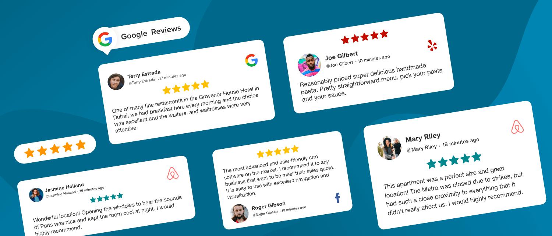 user generated reviews