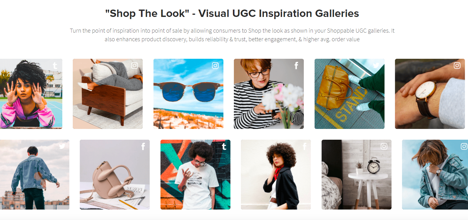 Make image shoppable