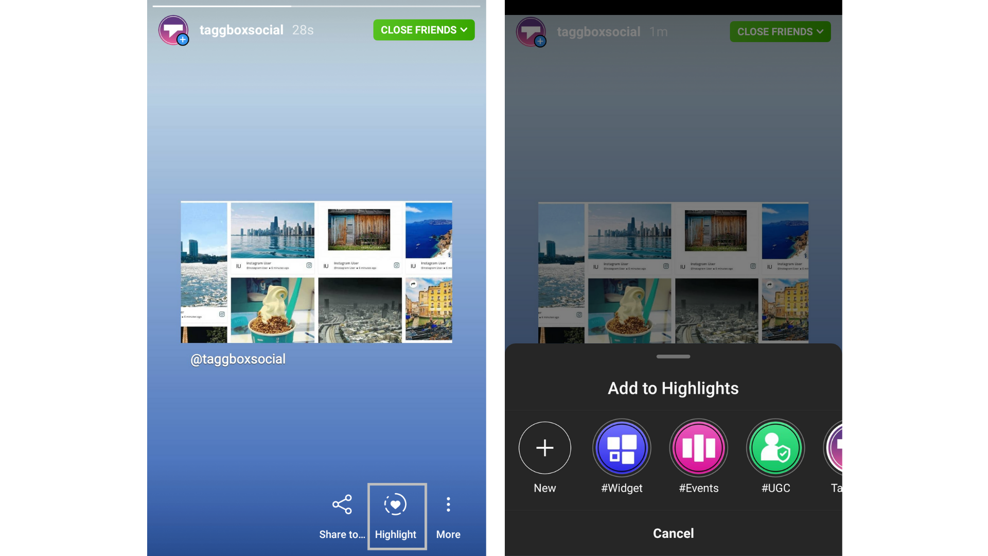 save instagram highlights