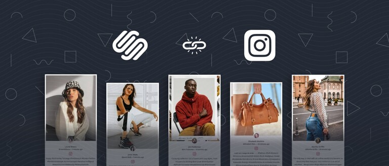 instagram feed on squarespace