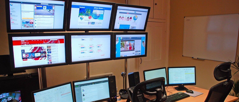 Social media war room