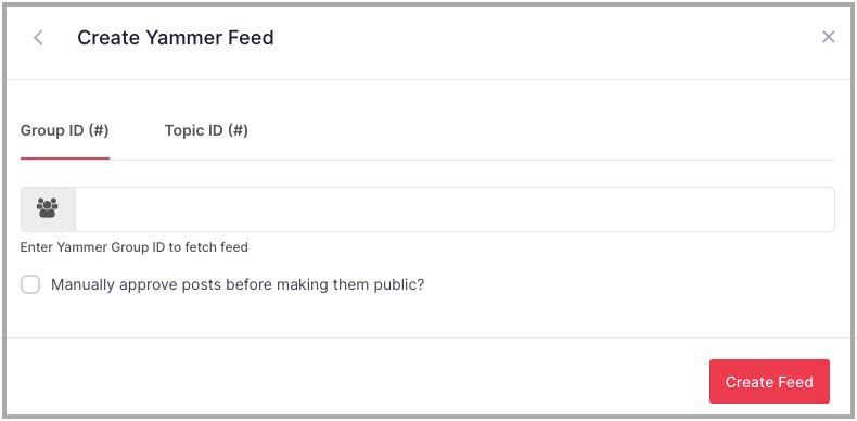 yammer feed in sharepoint