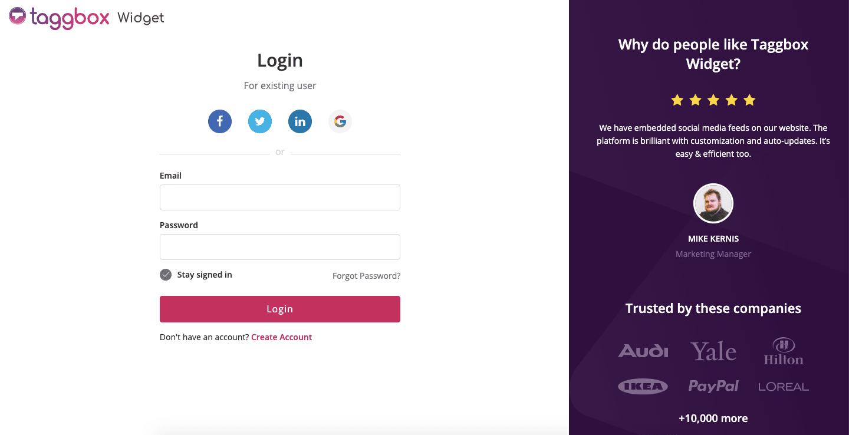 linkedin feed on website