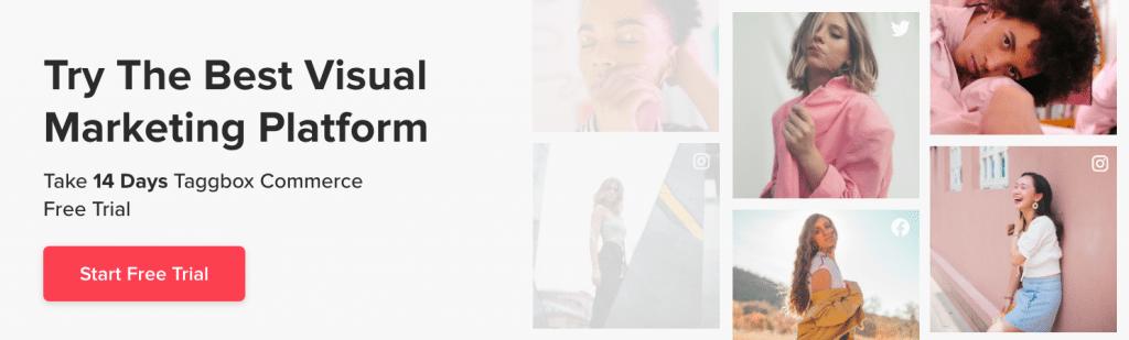 Visual Marketing platform