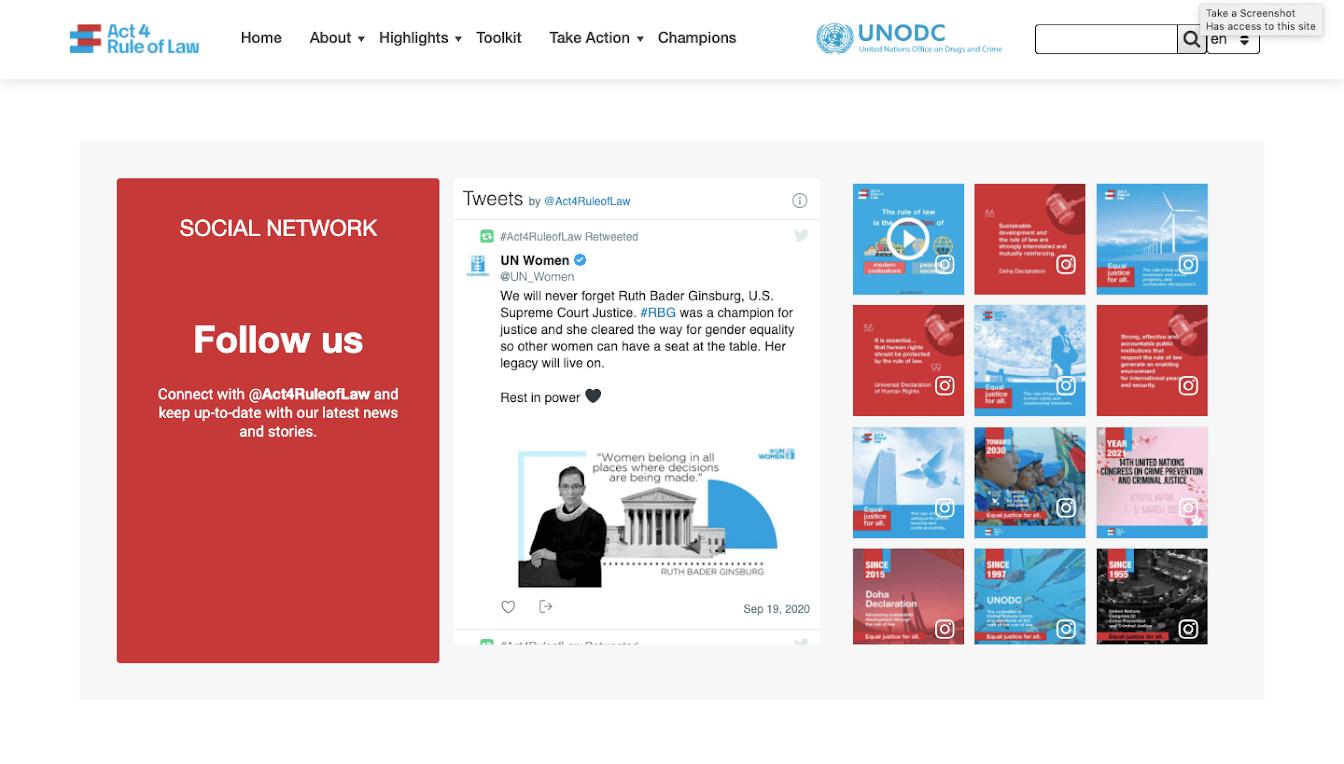 instagram aggregator for website