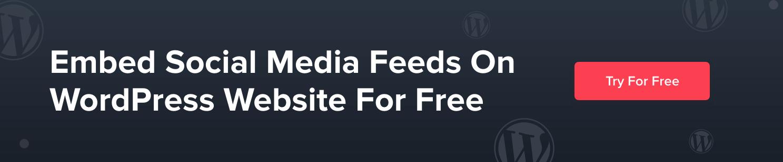social media feeds - Taggbox Widget
