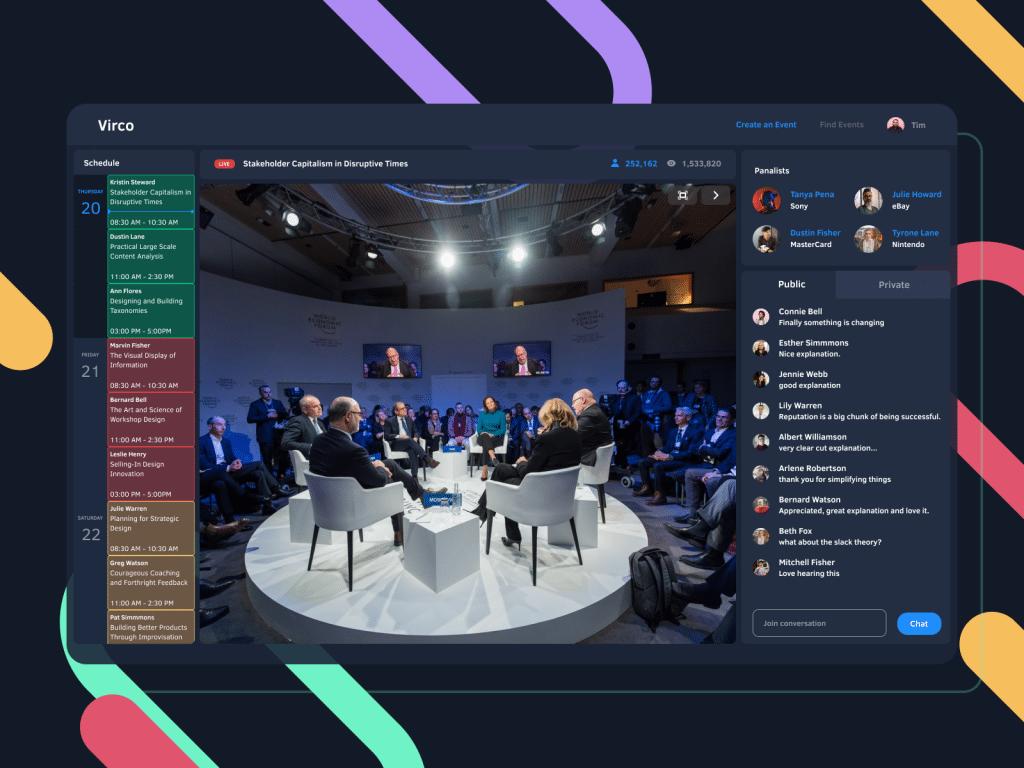 Q & A in Virtual Event