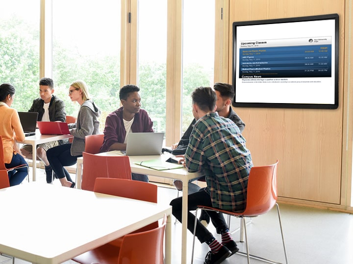 Boost Engagement with School Digital Signage