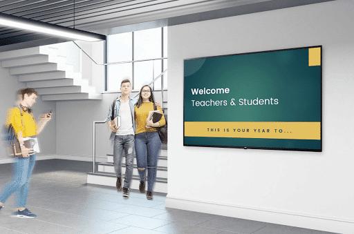 Welcome New Peoples in School
