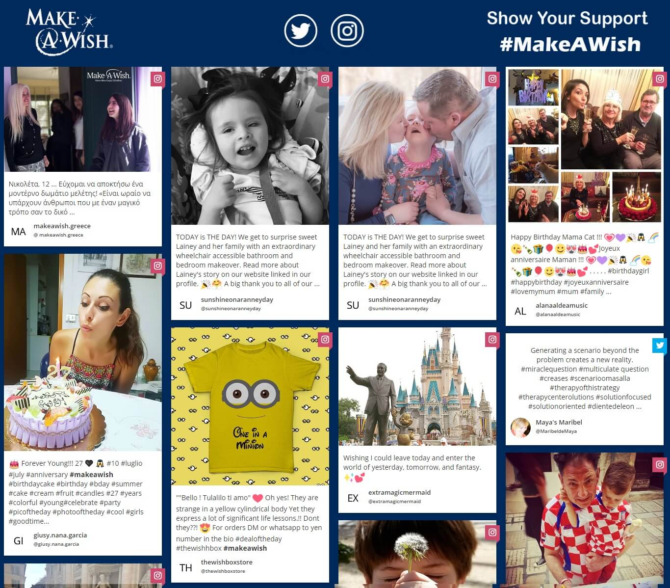 how to embed social media in website