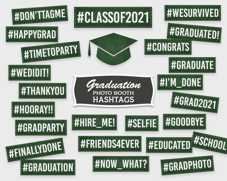 Virtual graduation hashtag