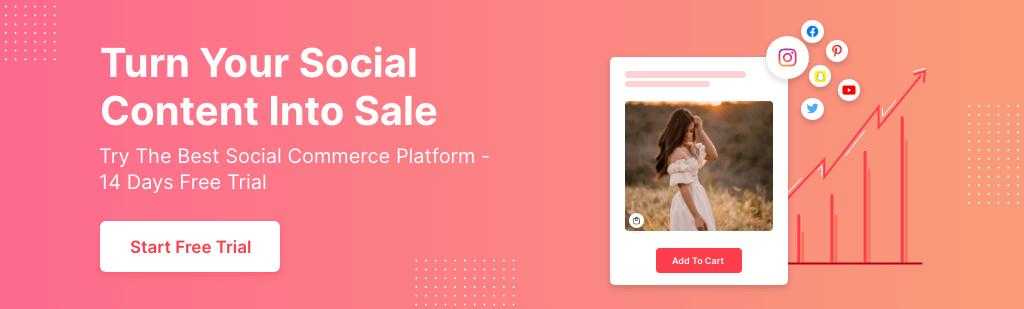 Social shop app