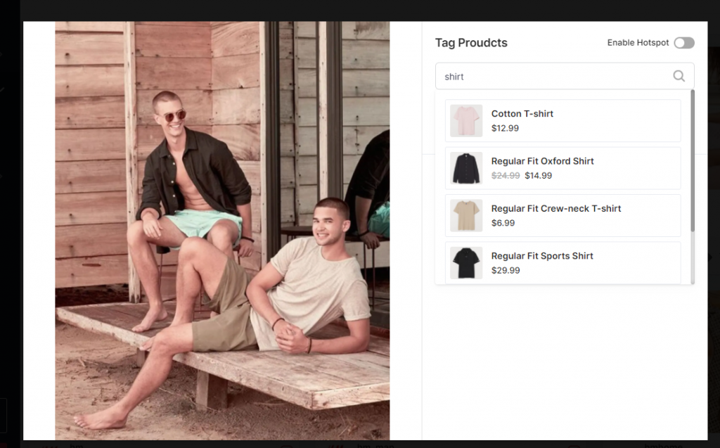 Tag Products Shopify
