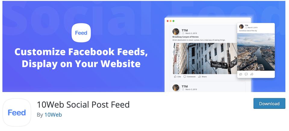 wordpress social feed plugin